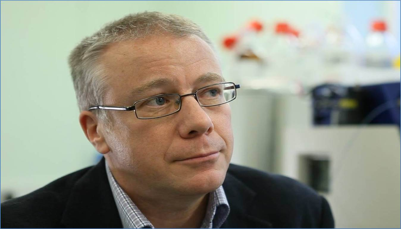 Photo of Prof Kevin Southern
