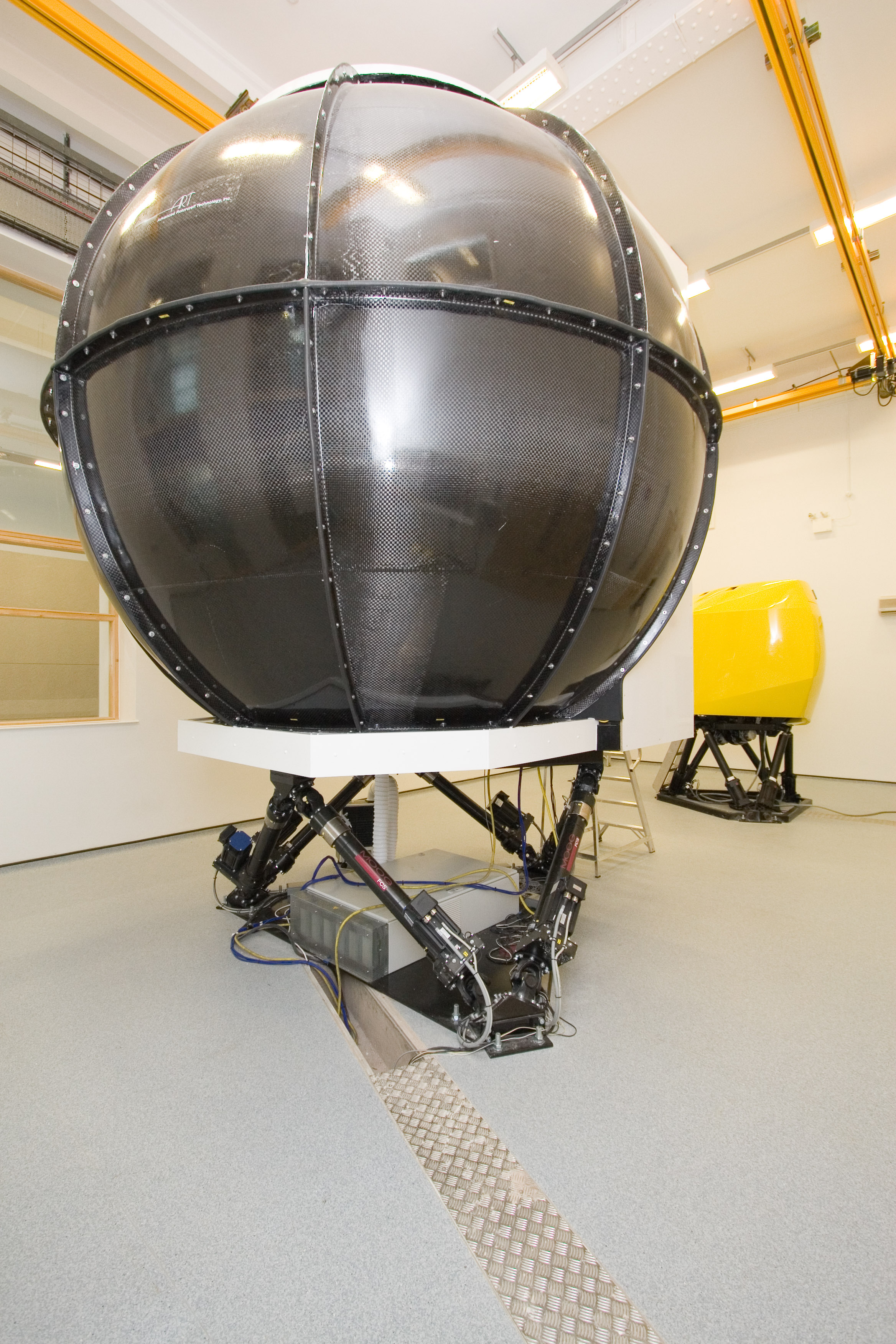 Handling Qualities research is conducted in our world class Flight Simulation Research Facilty